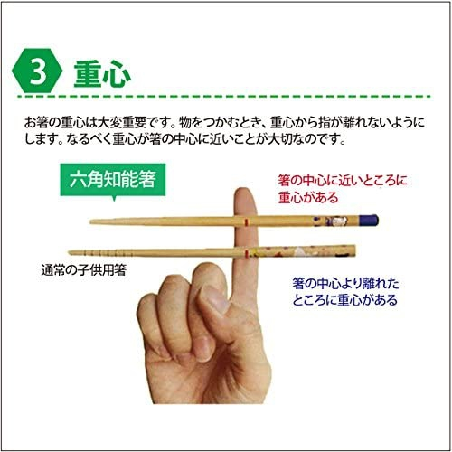 箸匠せいわ(せいわ) 六角知能箸の商品画像4