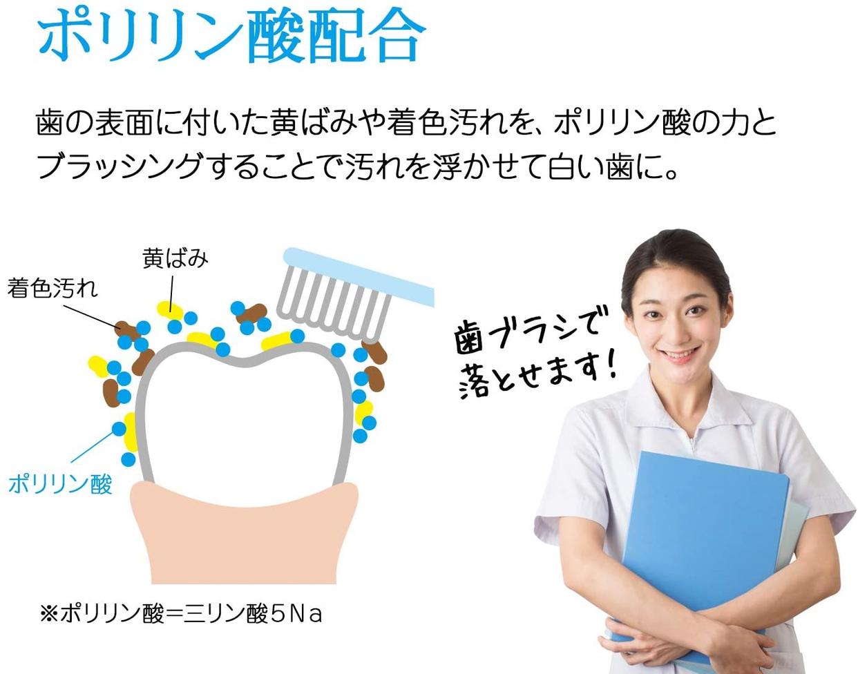 Buhna(ビューナ) トゥースマニキュア ピュアホワイトの商品画像6