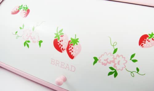 Country Heart One(カントリーハートワン) ストロベリー ロールアップブレッドボックスL(ピンク)DL907の商品画像2