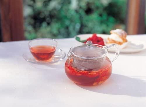HARIO(ハリオ) 茶茶急須 丸 CHJMN-45T クリアの商品画像9