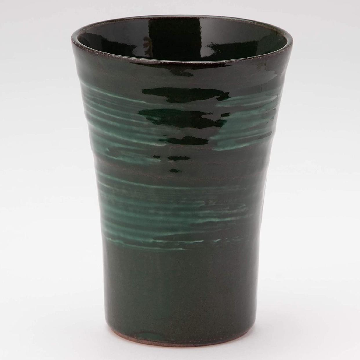 MINO CRAFT.(みのうくらふと)持ち易い焼酎カップ エメラルド K51148の商品画像4