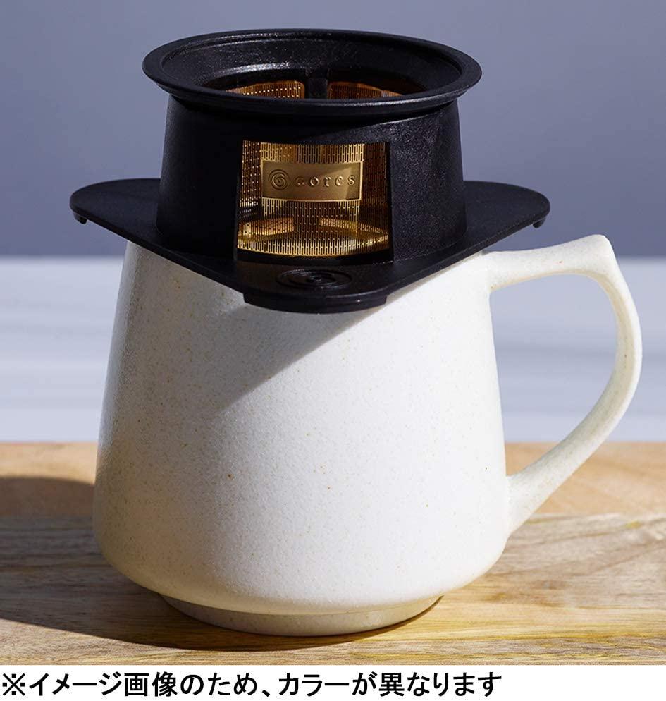 cores(コレス) シングルカップゴールドフィルター C211WH ホワイトの商品画像3