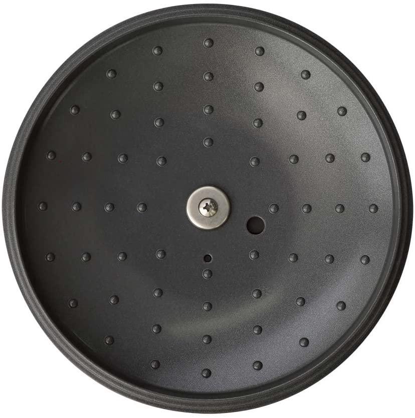 MAKER(マーカー) 無加水鍋 20cm IH対応 レッド MKSN-P20の商品画像6