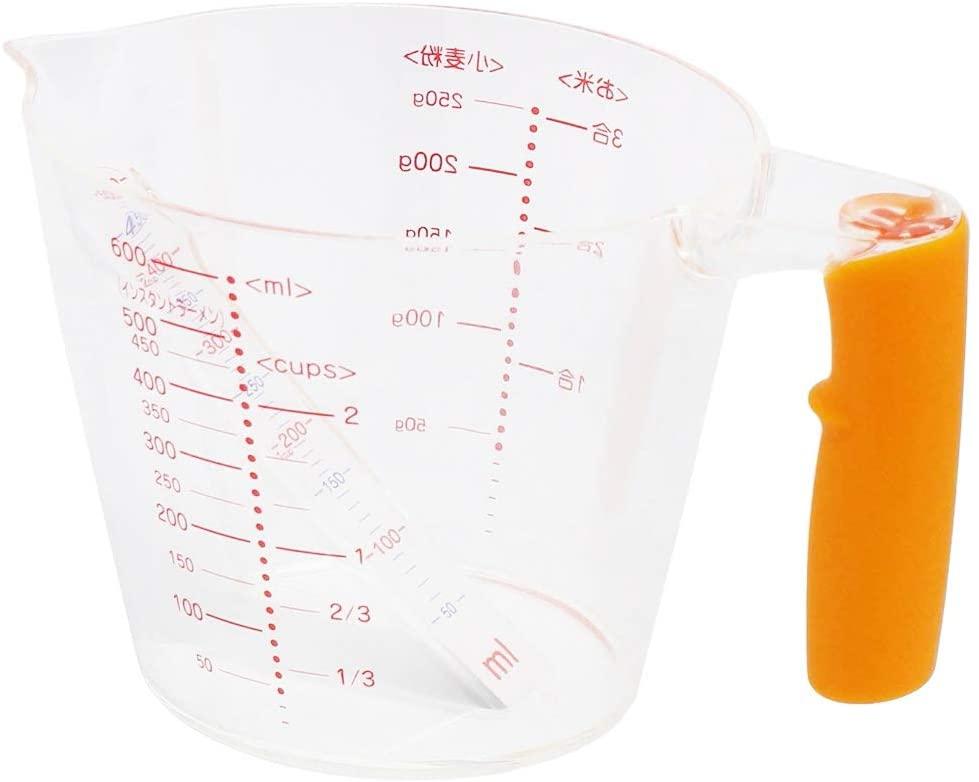 貝印(KAI) 見やすい計量カップ(600ml) DH7024の商品画像