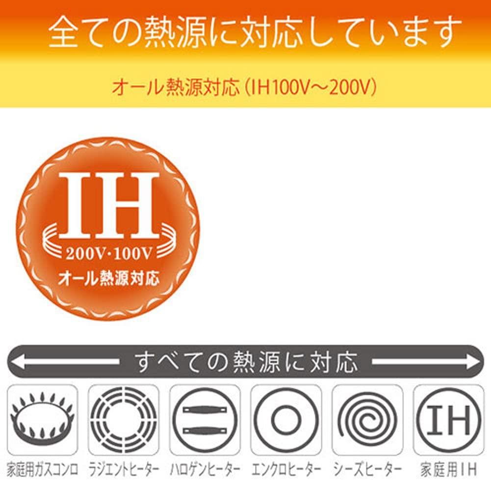 北陸アルミニウム(ホクリクアルミニウム) IHハイキャスト フライパンの商品画像7