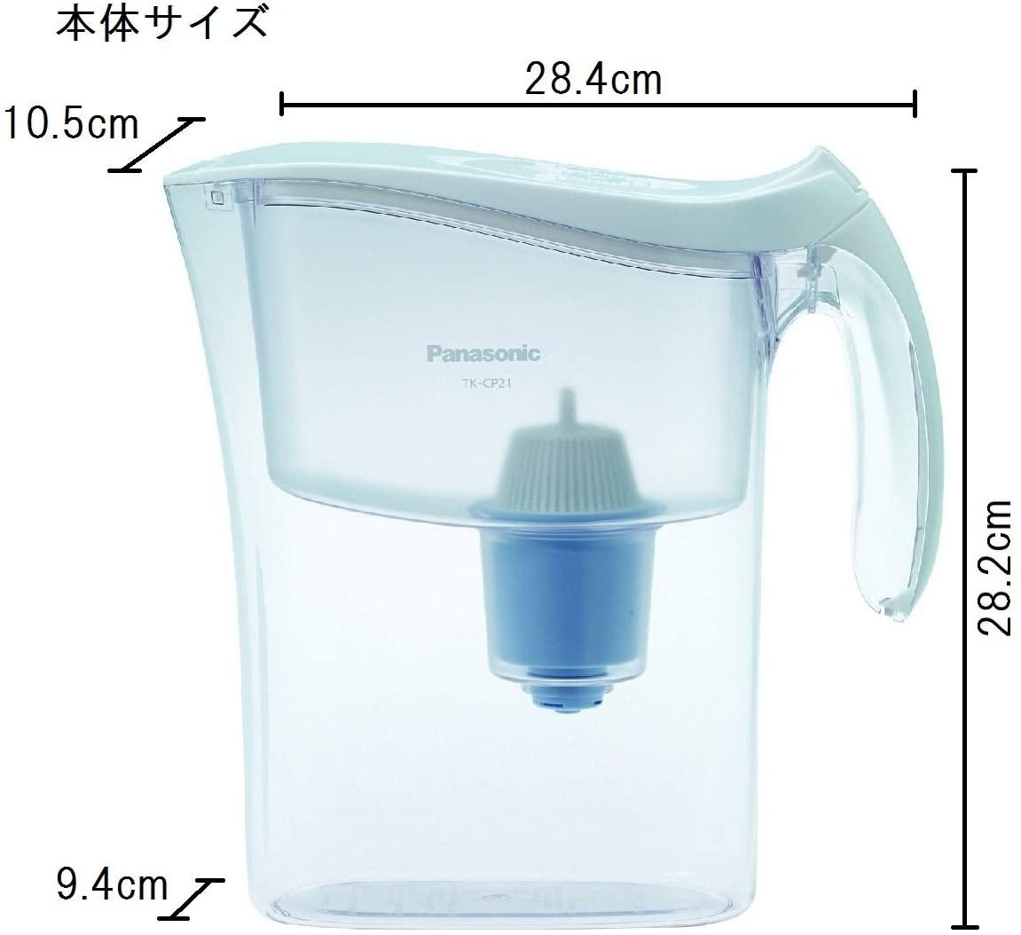 Panasonic(パナソニック)ポット型浄水器 TK-CP21の商品画像2