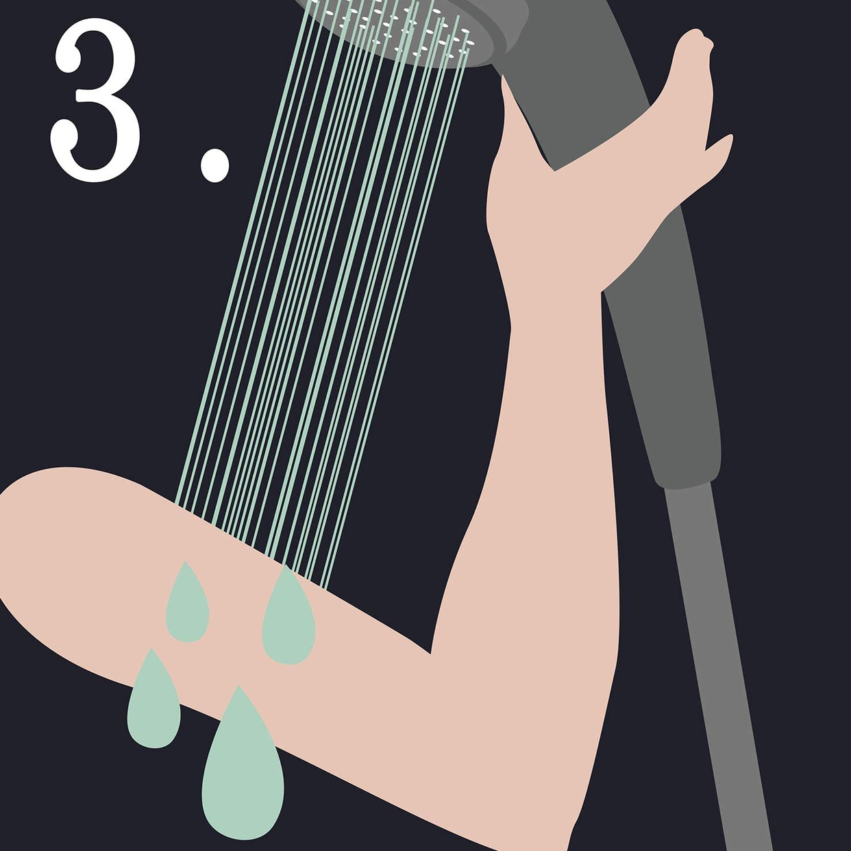 ペリカン石鹸(PELICAN SOAP) 二の腕ザラザラを洗う重曹石けんの商品画像5