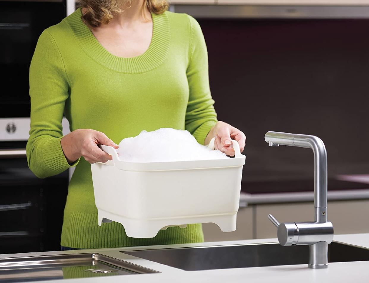 Joseph Joseph(ジョセフジョセフ) ウォッシュ&ドレイン / 洗い桶 ホワイト 850550の商品画像5