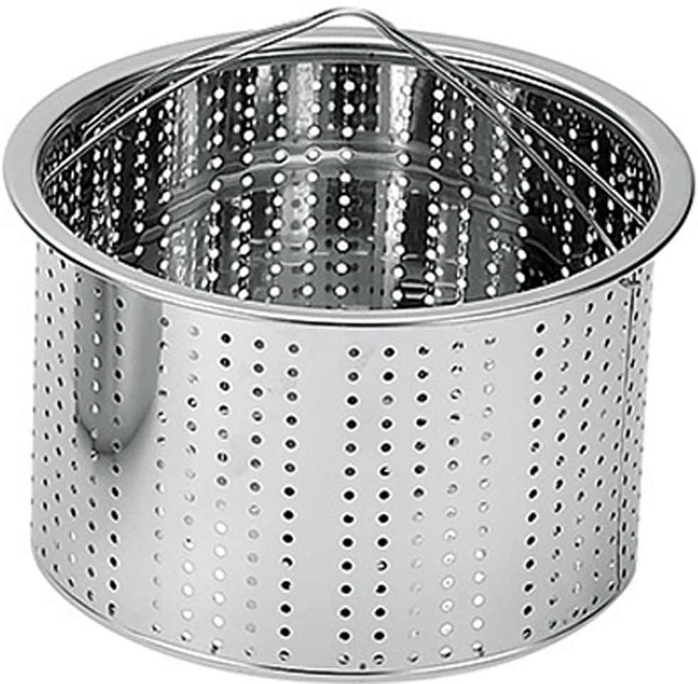 燕人の匠(エンジンノタクミ)パスタ鍋 桜吟 20cm シルバー ETS-500の商品画像3