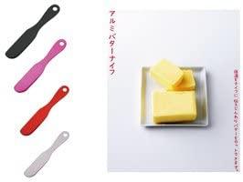 アイデアセキカワバターナイフ鎚目 マットブラックの商品画像2