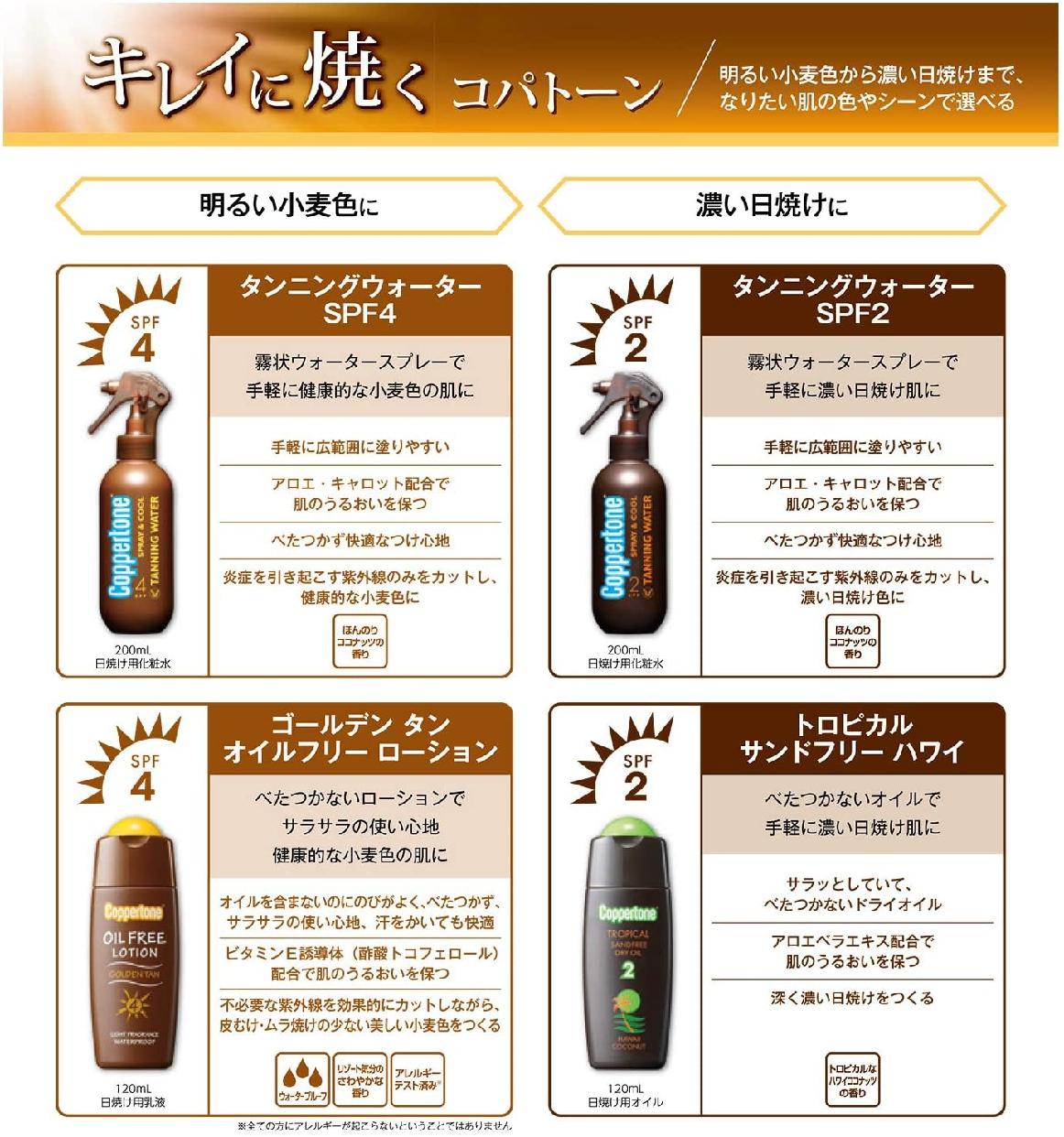 Coppertone(コパトーン) トロピカル サンドフリー ハワイの商品画像3