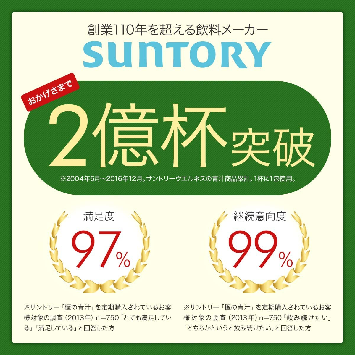 suntory(サントリー) 極の青汁の商品画像8