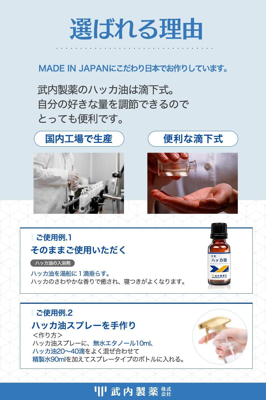 武内製薬(タケウチセイヤク) ハッカ油の商品画像4