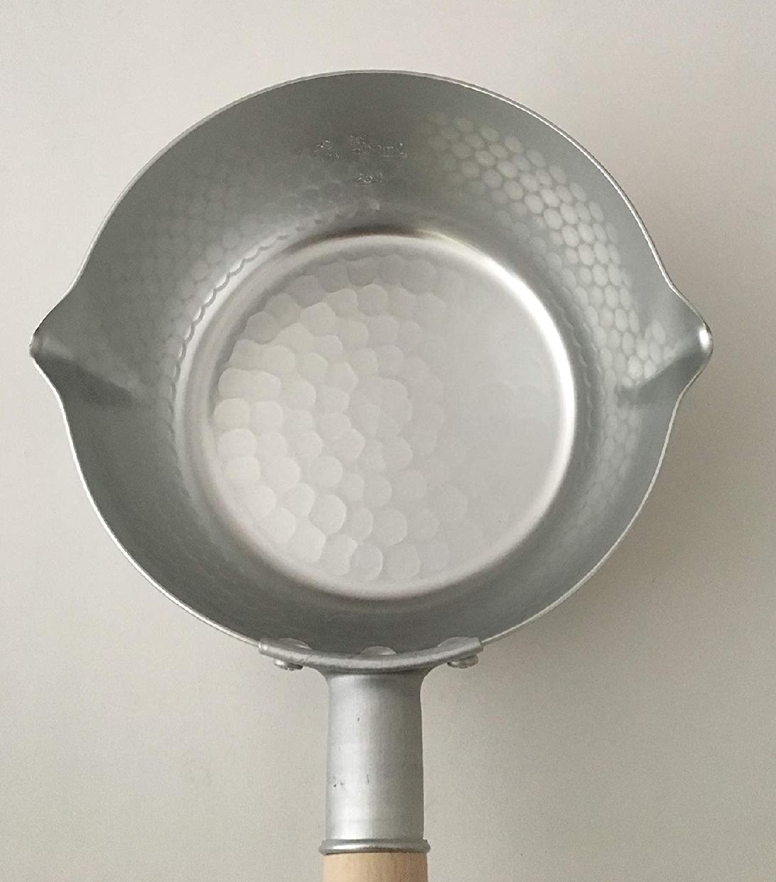 和の職人 谷口金属 日本製 和の職人 誉ゆきひら鍋 シルバー 16cmの商品画像6
