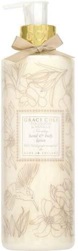 GRACE COLE(グレースコール)フローラルコレクション ハンド&ボディローション マグノリア&バニラ