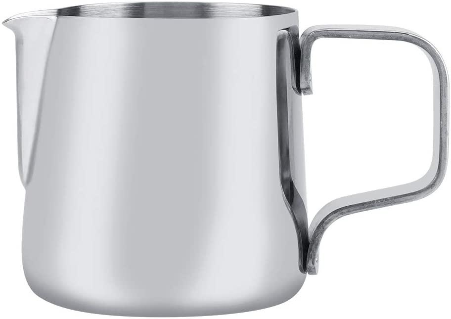 Filfeel(フィルフィール)ステンレスミルク泡立てカップ 100ml シルバーの商品画像