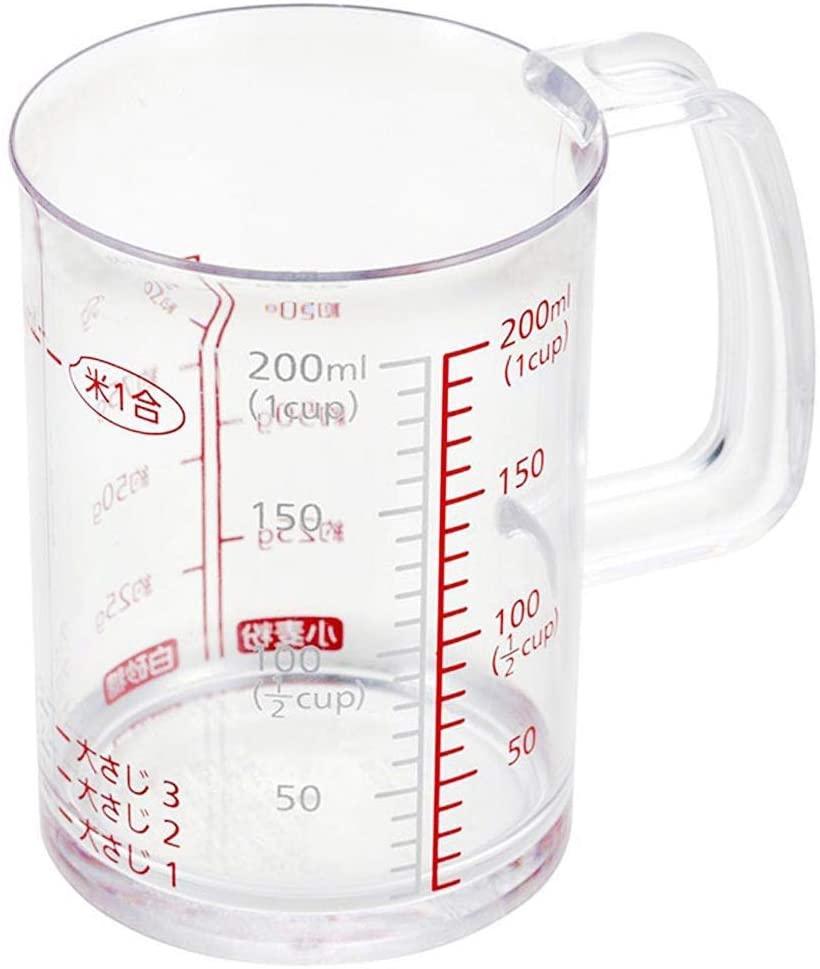 貝印(KAI) どこでも注げる耐熱計量カップ 200ml DH7120の商品画像
