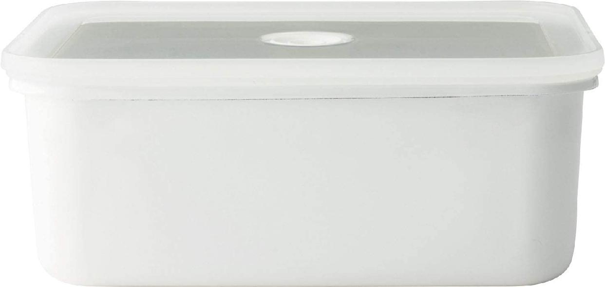 富士ホーロー(FUJIHORO) ヴィードシリーズ 深型角容器M  VD-M.Wの商品画像