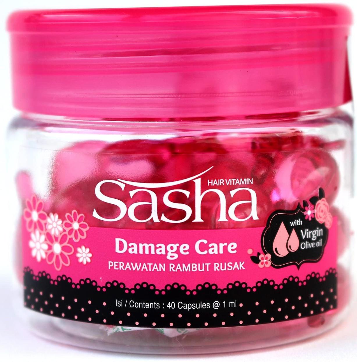 Sasha(サシャ) ヘアビタミン ピンク(ダメージケア)
