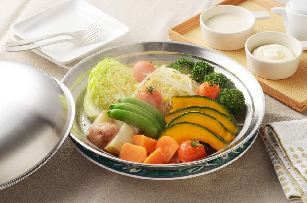 YOSHIKAWA(ヨシカワ) フライパンにのせて簡単蒸しプレート YJ2611の商品画像5