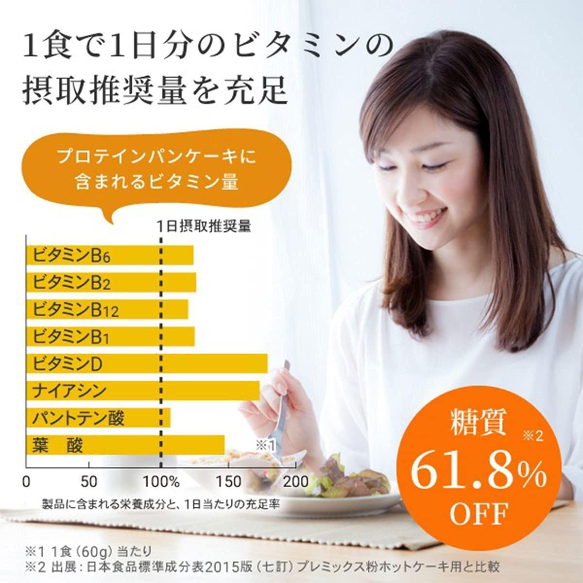 AFC(エーエフシー) プロテインパンケーキミックスの商品画像5