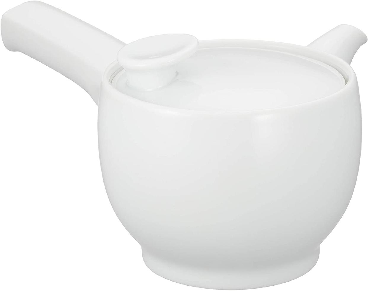 茶和 急須 白磁 右手用 日本製 φ10.5cmの商品画像
