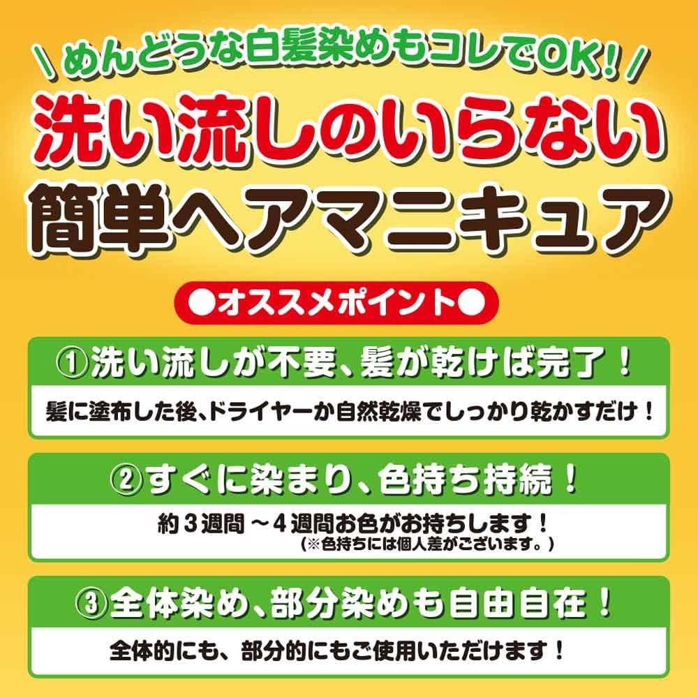 加美乃素本舗(KAMINOMOTO) カラー デ リタッチ ヘアマニキュアの商品画像5