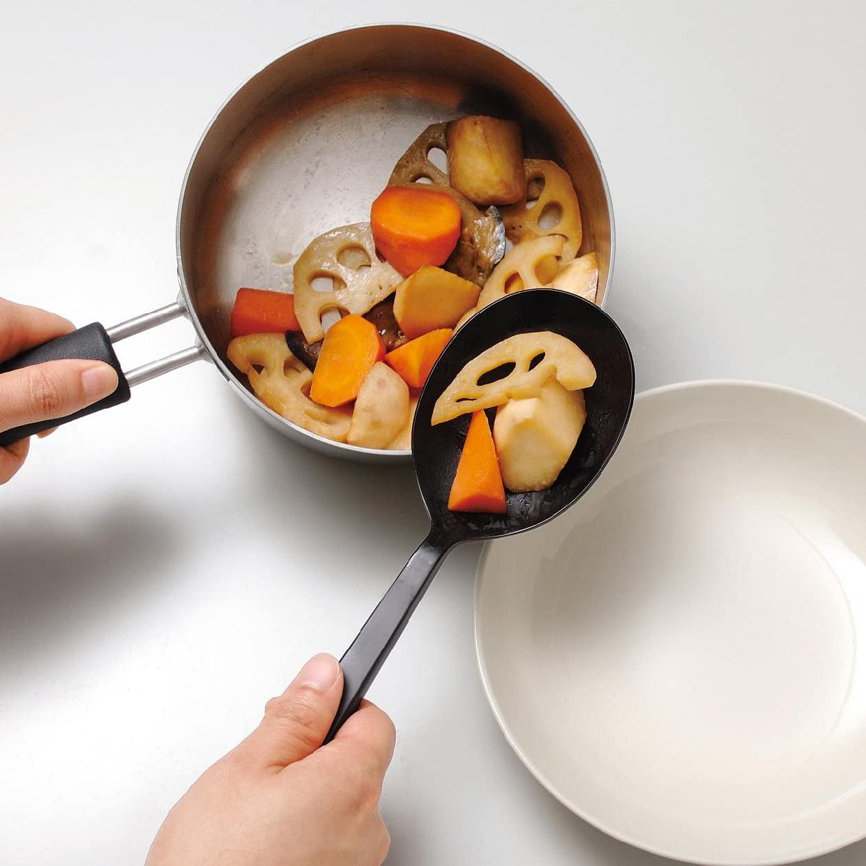 無印良品(むじるしりょうひん)シリコーン調理スプーン 26cmの商品画像2