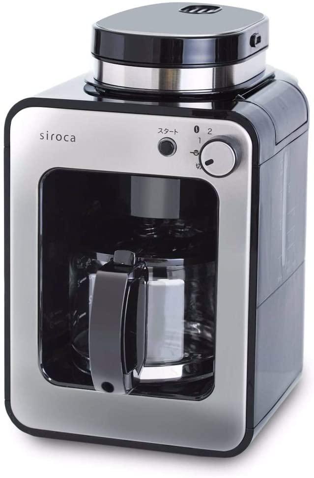siroca(シロカ)全自動コーヒーメーカー カフェばこ SC-A211の商品画像