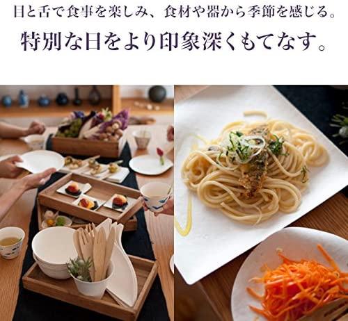 WASARA(ワサラ) 丸皿(中)100枚入 16.5cmの商品画像7