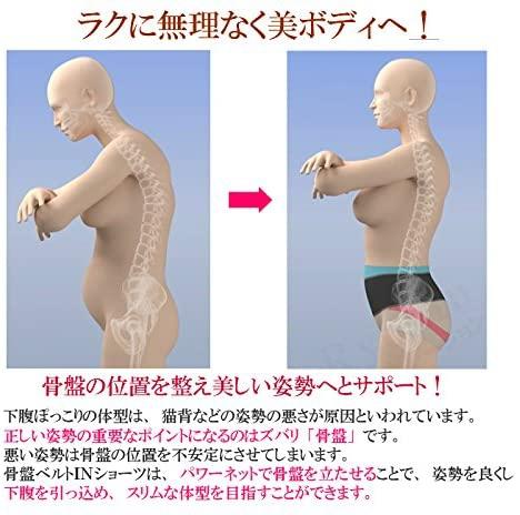 室伏由佳プロデュース(ムロフシユカプロデュース)骨盤ベルトINショーツの商品画像6