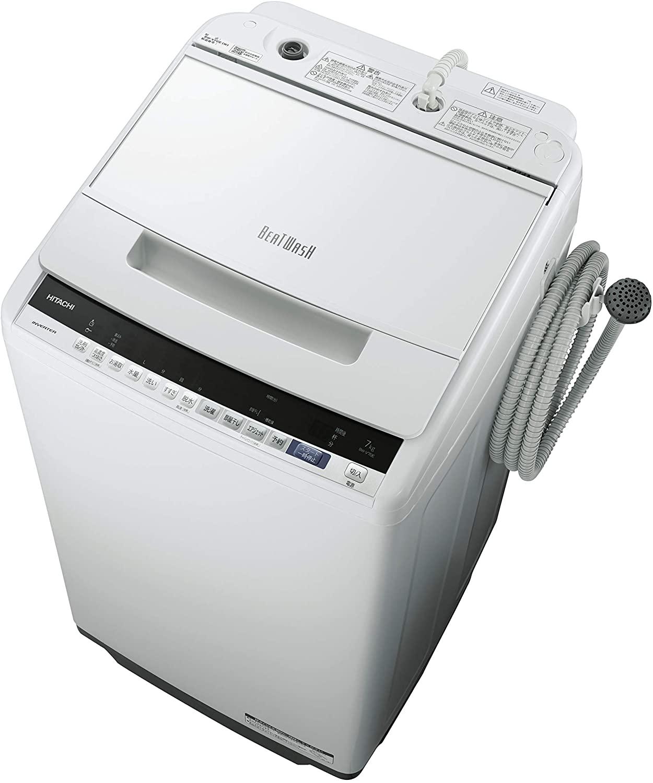 日立(HITACHI) ビートウォッシュ 全自動洗濯機 BW-V70Eの商品画像