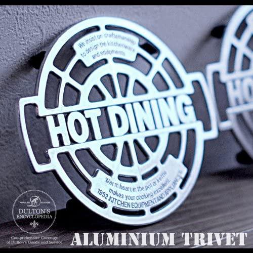 DULTON(ダルトン) Aluminum trivet 鍋敷き100-017 φ180mmの商品画像
