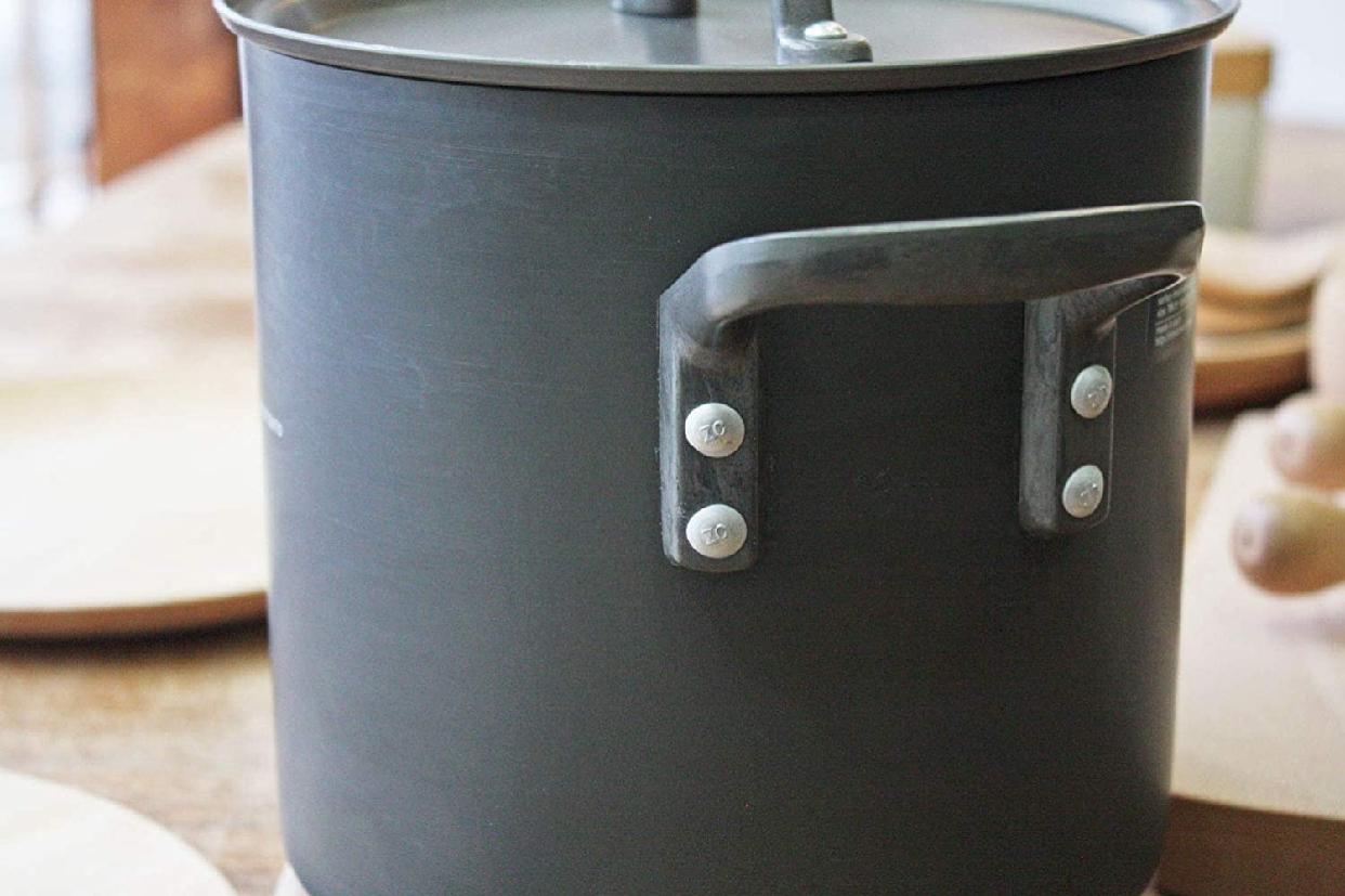 ETOETOTEATO(エトエトテアト) 寸胴鍋 ブラック×ブラック 4.3L ET014の商品画像3