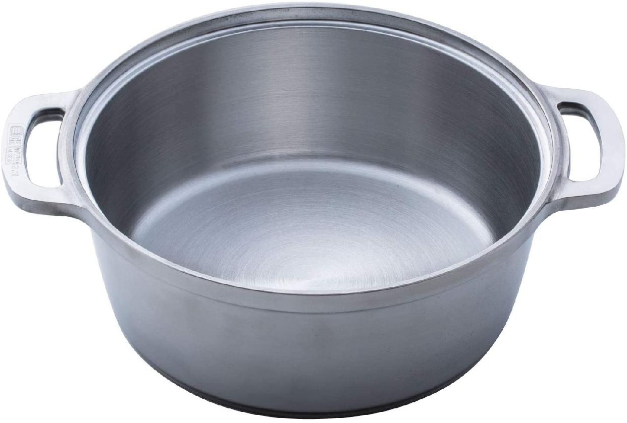 ハルムスイKING無水鍋®24 600034 シルバーの商品画像3