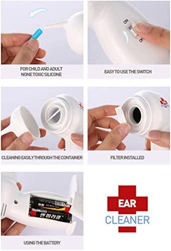 EAR CLEANER ワックスリムーバー 電動 耳かきの商品画像3