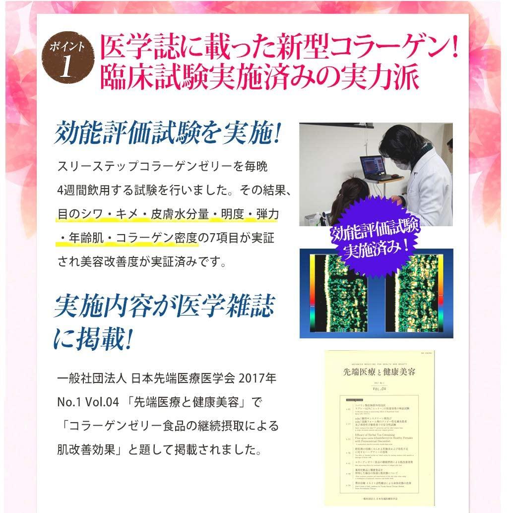 きめやか美研 スリーステップ コラーゲンゼリーの商品画像7