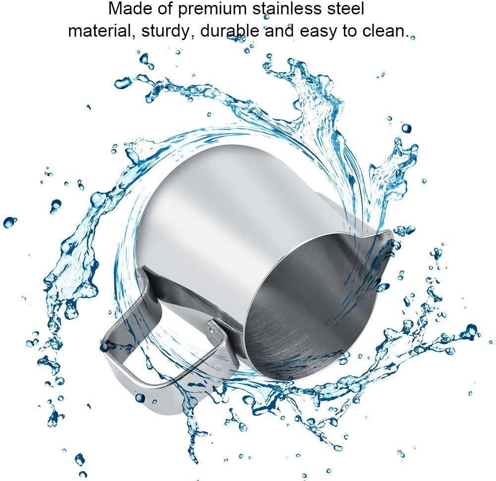 Filfeel(フィルフィール)ステンレスミルク泡立てカップ 100ml シルバーの商品画像8