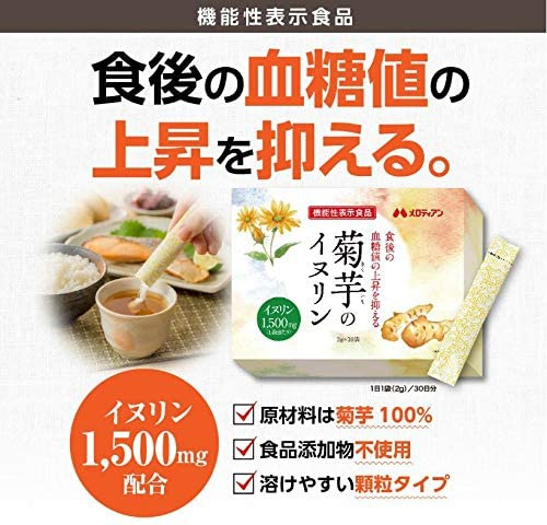 メロディアン 菊芋のイヌリンの商品画像2