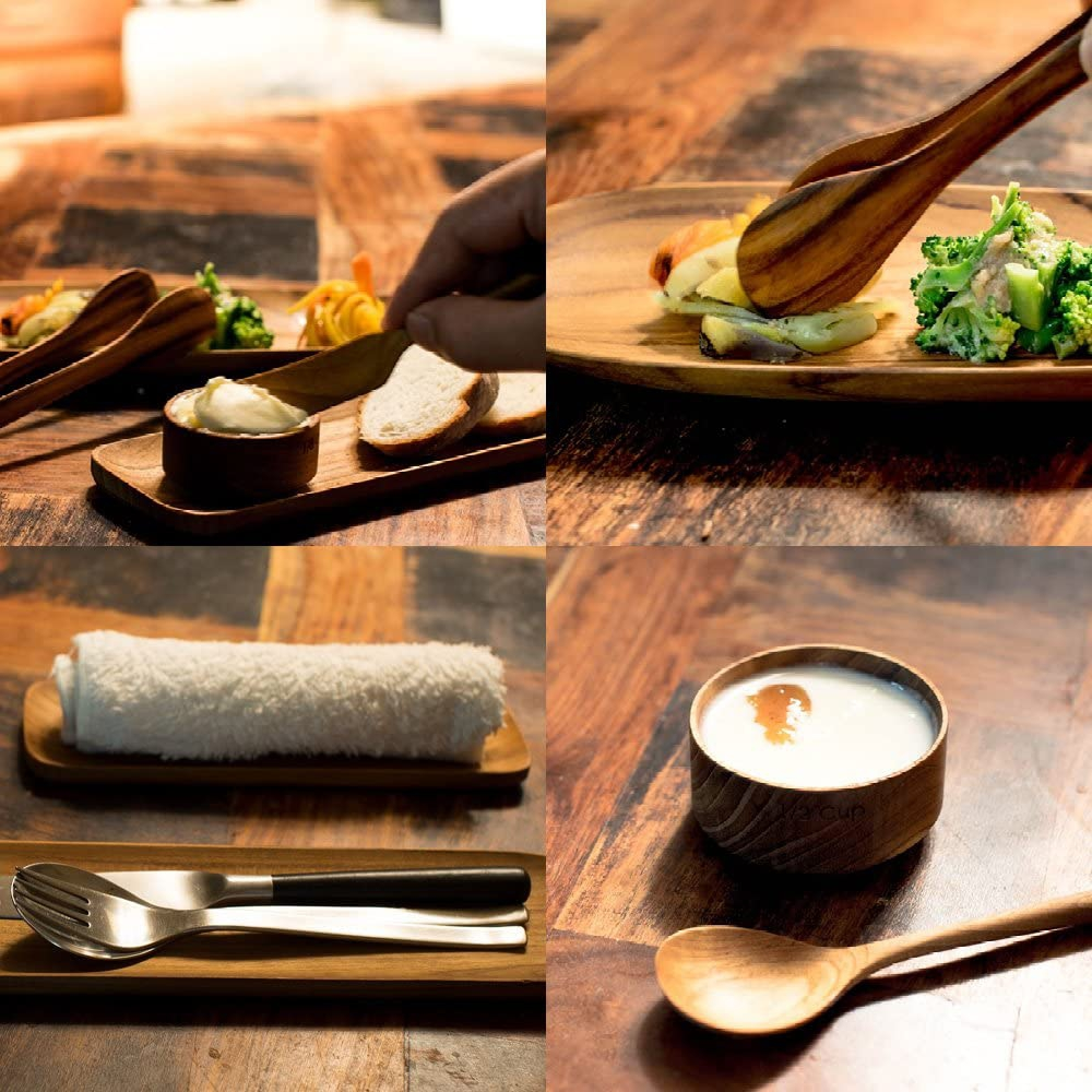 sarasa design(サラサデザイン)tw023/b2cチーク バターナイフ 145mmの商品画像7