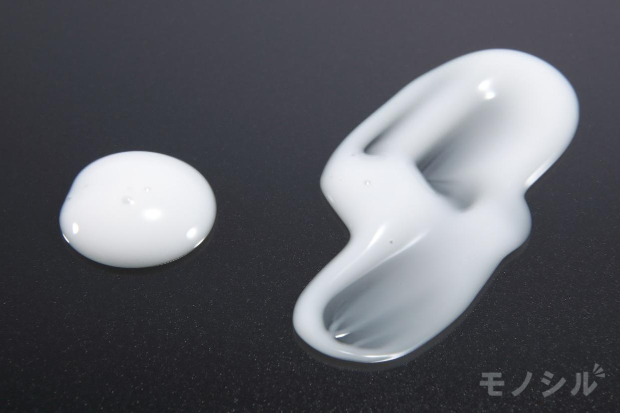無印良品(MUJI) 乳液・敏感肌用・しっとりタイプの商品のテクスチャ−