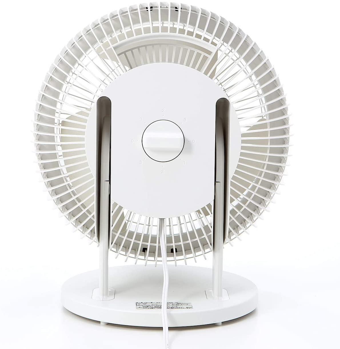 無印良品(MUJI) サーキュレーター(低騒音ファン・大風量タイプ) AT-CF26R-Wの商品画像4