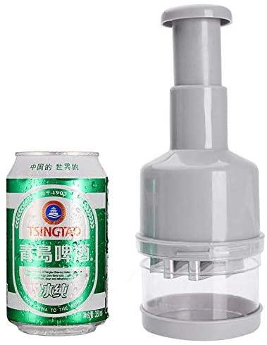 MiXXAR(ミキサー)みじん切り器 野菜 押すだけでみじん切り プレスカット チョッパー 手動 緑の商品画像7