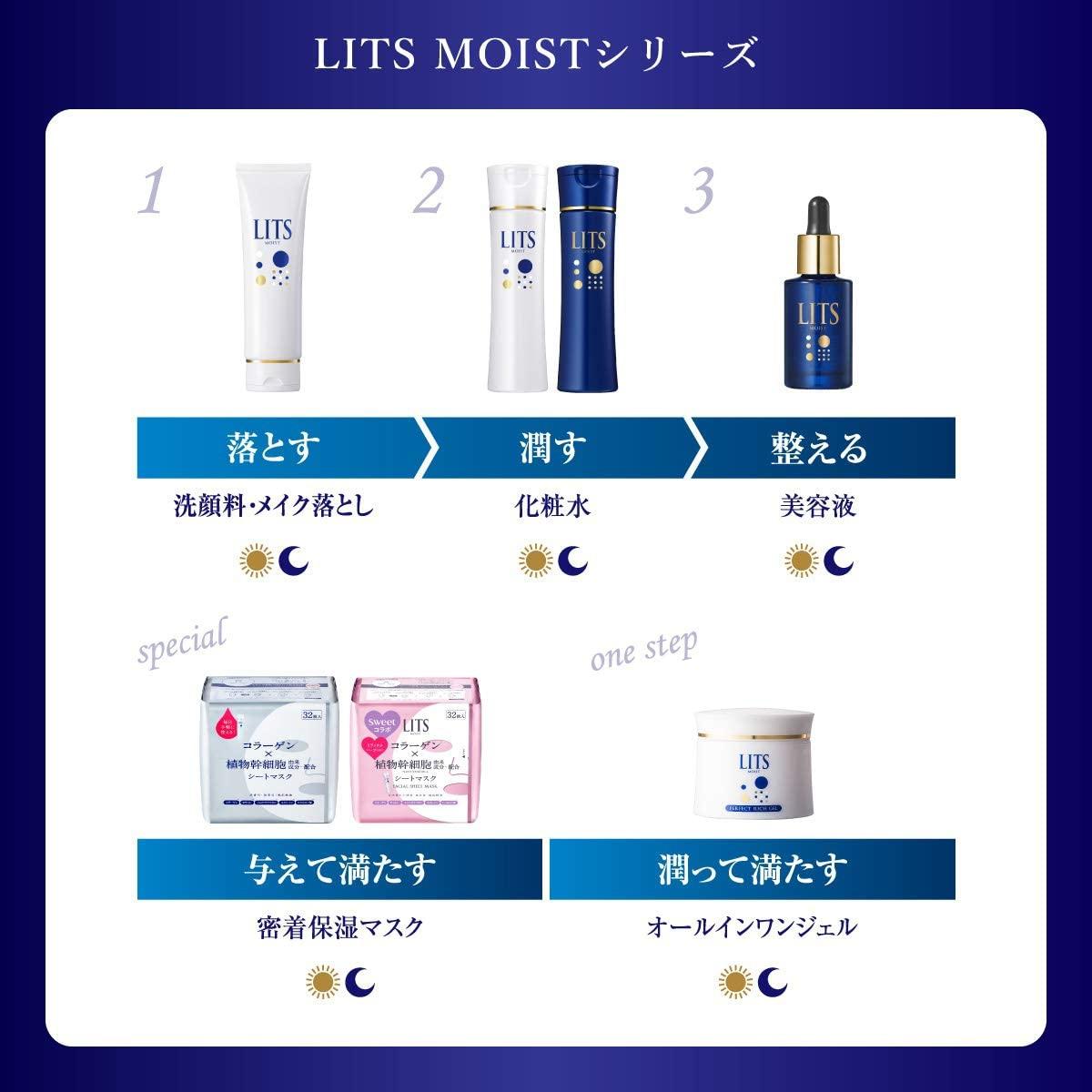 LITS(リッツ)モイスト リッチローションの商品画像9