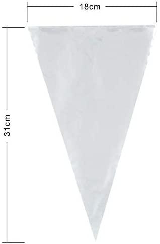 Keenpioneer(キーンパイオニア) 絞り袋 12インチ 100枚箱入り クリアの商品画像4