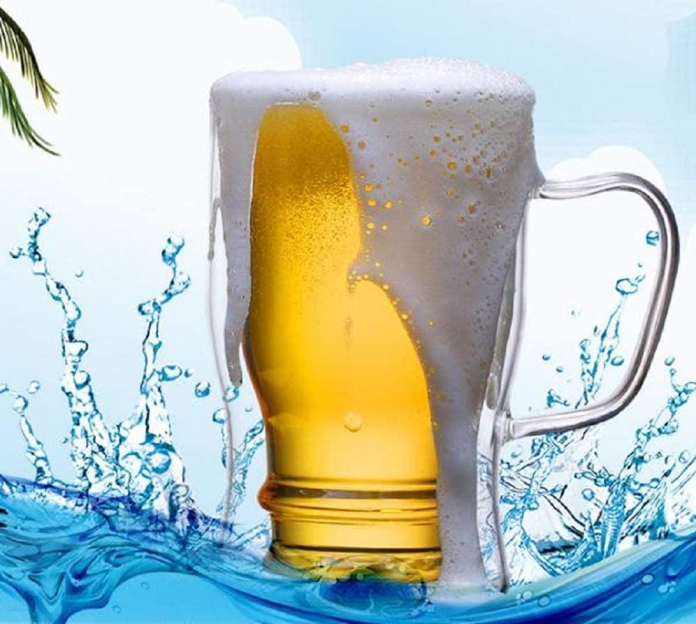 morningplace(モーニングプレイス) ビール ジョッキ  (350ml&550ml 2個セット)の商品画像4