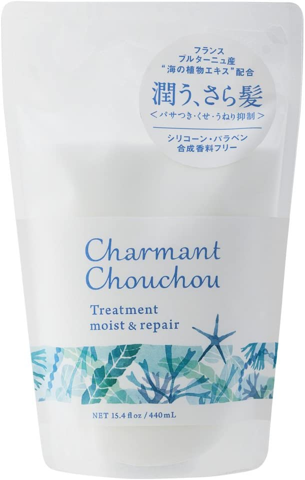 Charmant Chouchou(シャルマンシュシュ) モイスト&リペアシャンプー モイスト&リペアトリートメントの商品画像5