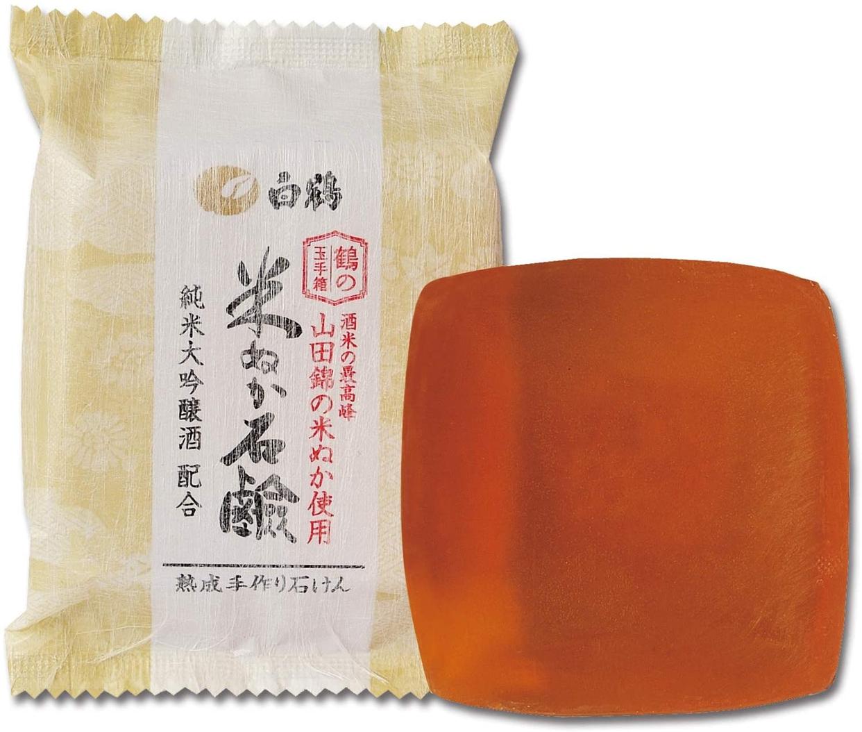 白鶴 鶴の玉手箱(ハクツル ツルノタマテバコ) 米ぬか石けんの商品画像4