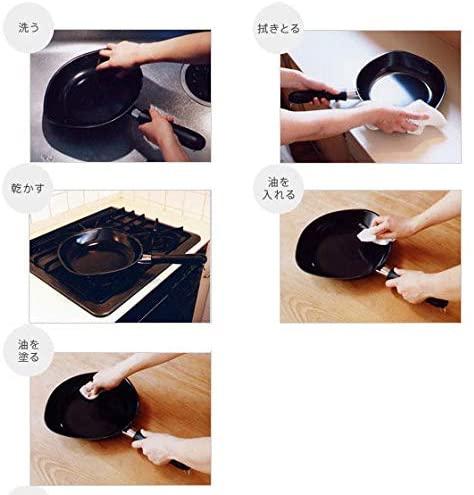 柳宗理(SORI YANAGI) 鉄フライパン【ファイバーライン加工】フタ付きの商品画像8