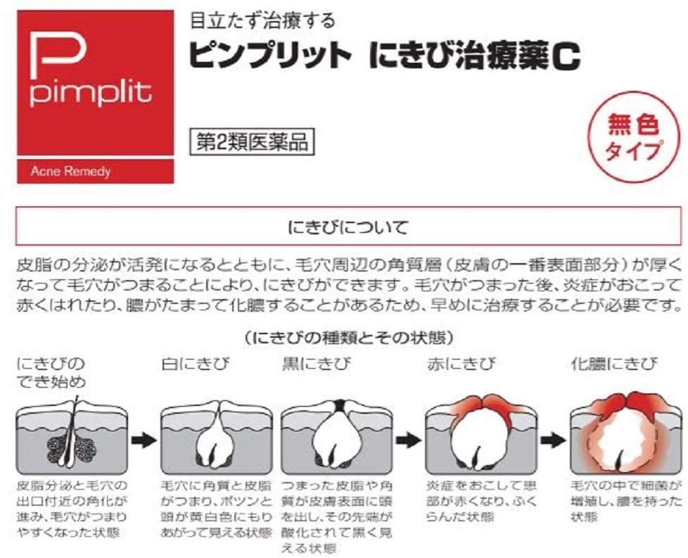 pimplit(ピンプリット) ピンプリットにきび治療薬【第2類医薬品】の商品画像3